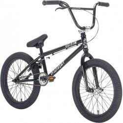 Велосипед BMX Academy Origin 18 2021 черный с полированным