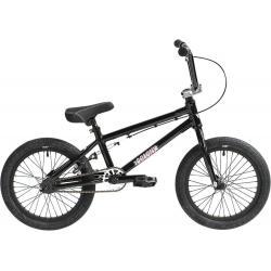Велосипед BMX Colony Horizon 16 2021 черный с полированным