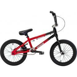 Велосипед BMX Colony Horizon 16 2021 черный с красным