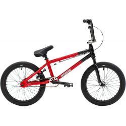Велосипед BMX Colony Horizon 18 2021 черный с красным