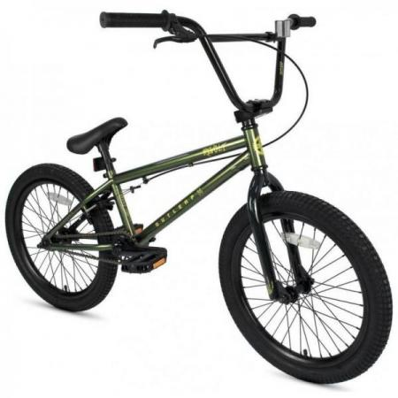 Outleap REVOLT 2021 19 khaki BMX bike
