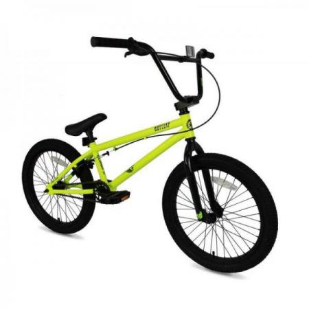 Outleap CLASH 2021 19 neon green BMX bike