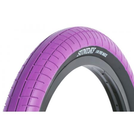 Sunday Street Sweeper 2.4 purple with black wall tire