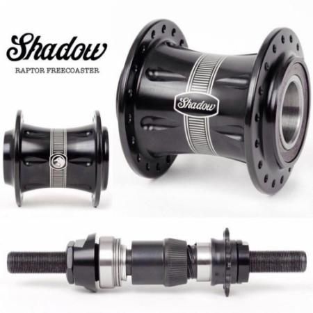Shadow Raptor Freecoaster Rhd Black Hub Rear