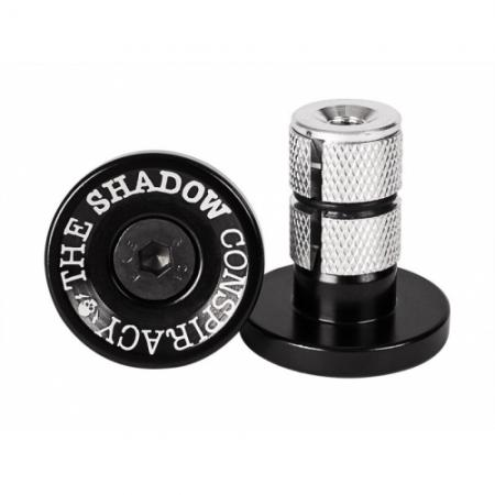 Shadow Deadbolt Chrome With orange Barends