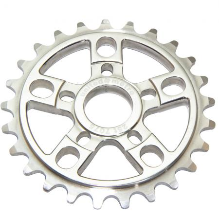 United Metro 25T Chrome  Sprocket