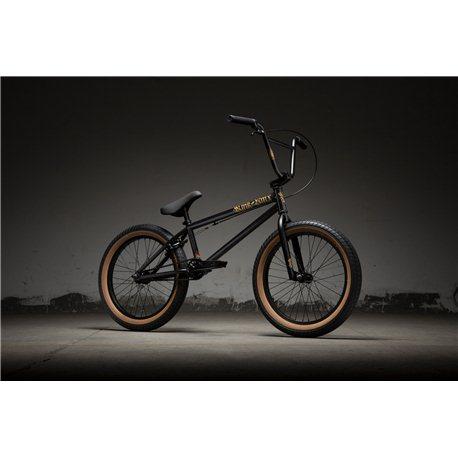 Kink Curb Matte Black Goldschlager BMX Bike