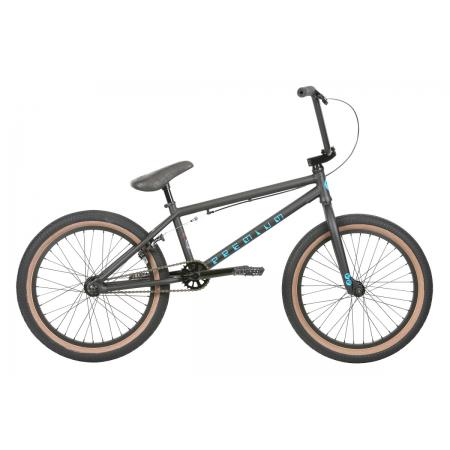 PREMIUM Inspired Matte Black 2019 20.5 BMX Bike