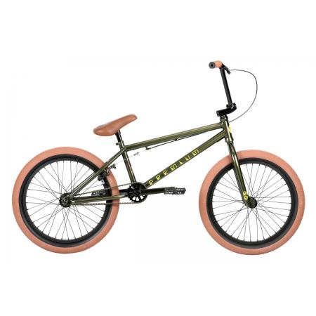 PREMIUM Inspired Gloss Olive 2019 20.5 BMX Bike