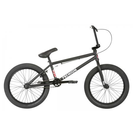 PREMIUM Subway Matte Black 2019 20.5 BMX Bike