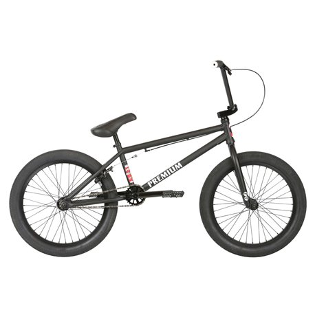 PREMIUM Subway Matte Black 2019 21 BMX Bike